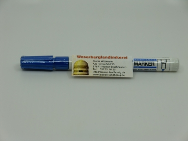 Königinnen Zeichenstift Blau, permanenter Lackstift